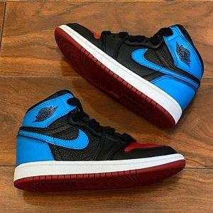 Jordan Retro 1 Carolina to Chicago sneakers
